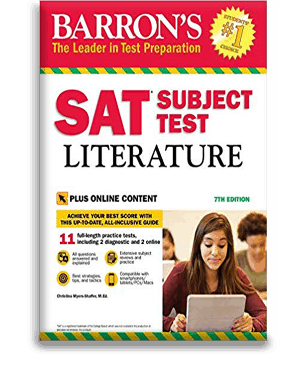 Barron's SAT Subject Test: Literature - With Online Tests